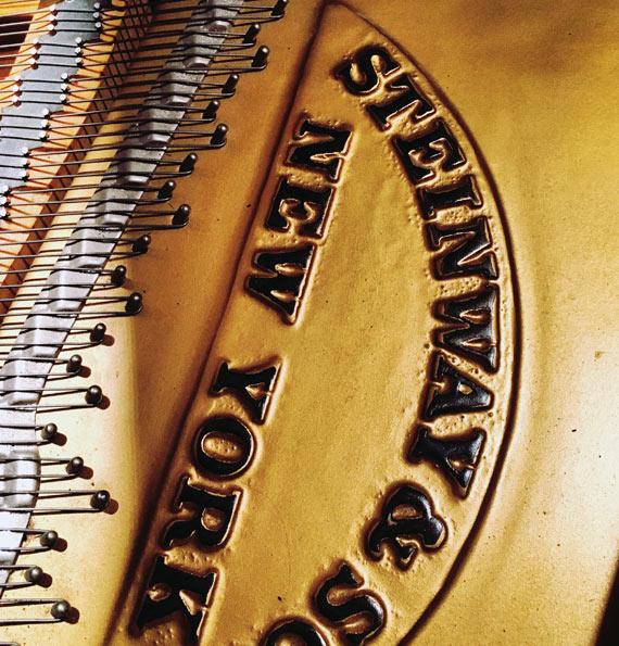 steineway and sons new york grand piano branding